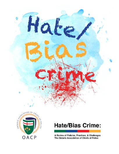 Hate Bias Crime Resource Document Cover